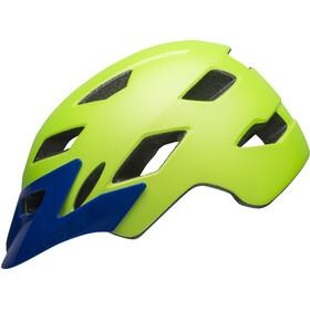 Bell Sidetrack Kask rowerowy Dzieci, matte bright green/blue